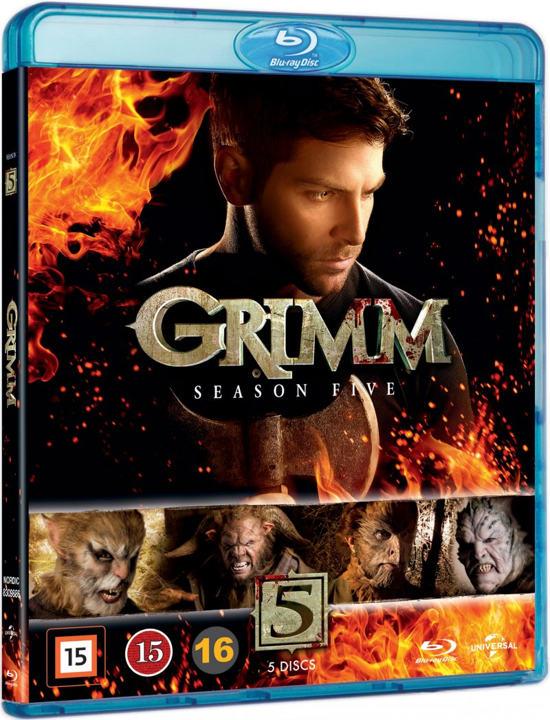 Image of   Grimm - Sæson 5 - Blu-Ray - Tv-serie