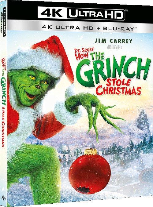 Billede af Grinchen - Julen Er Stjålet / How The Grinch Stole Christmas - 4K Blu-Ray