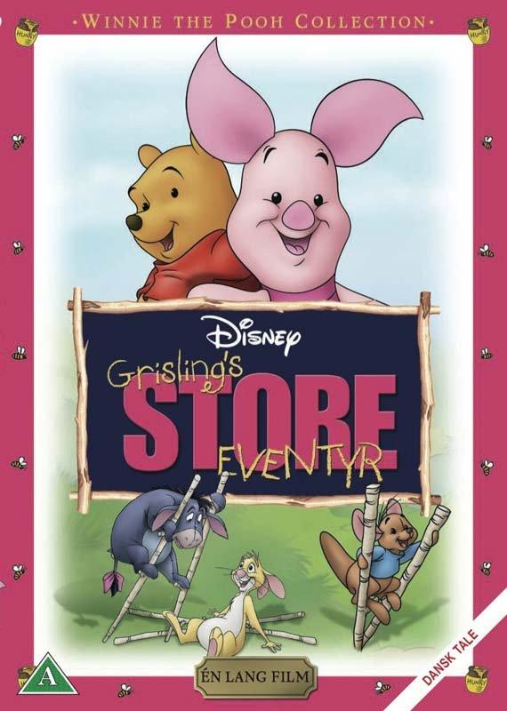 Billede af Grislings Store Eventyr - DVD - Film