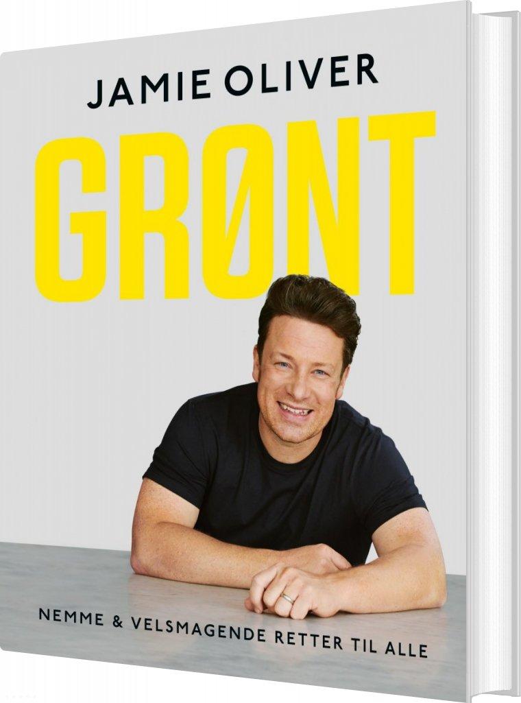 Grønt - Jamie Oliver - Bog