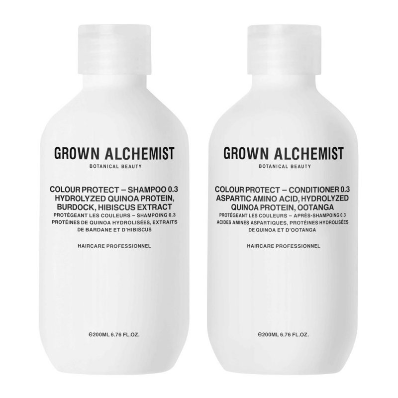 Image of   Grown Alchemist Shampoo - Colour-protect Haircare Twinset 2x 200 Ml