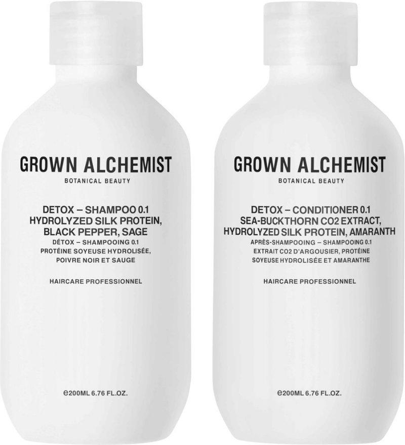 Image of   Grown Alchemist Shampoo - Detox Haircare Twinset 2x200 Ml