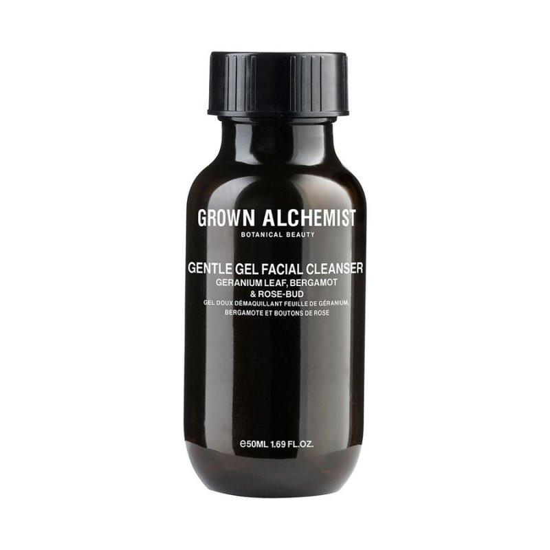 Image of   Grown Alchemist Ansigtsvask - Gentle Gel Facial Cleanser: Geranium Leaf, Bergamot 50 Ml