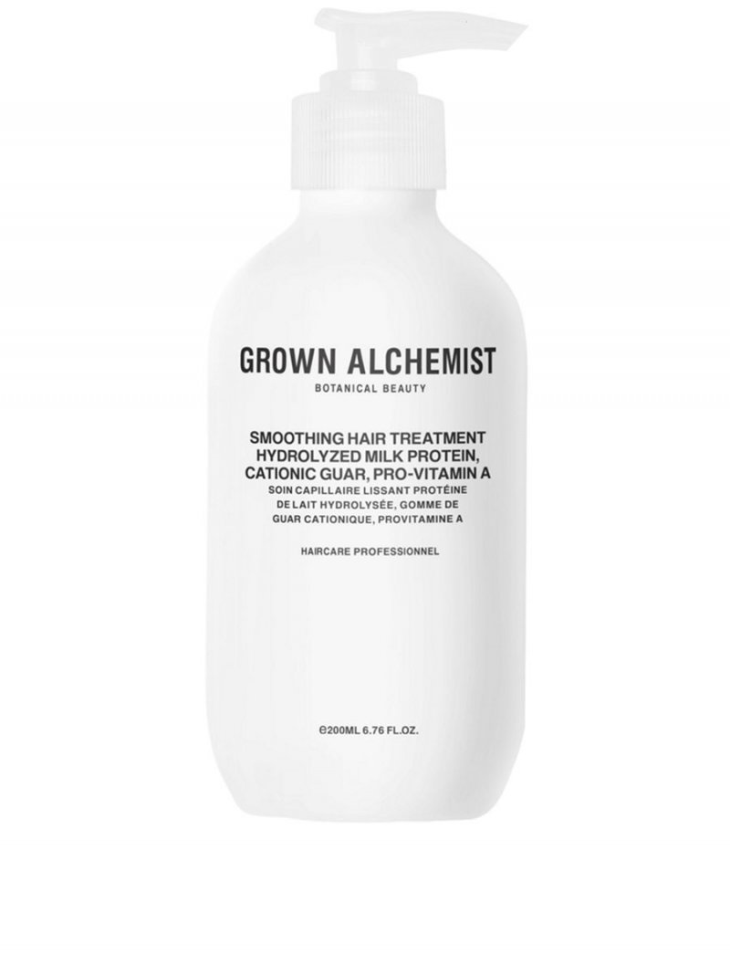 Image of   Grown Alchemist Smoothing Hair Treatment - Protein, Katonisk Guar, Pro-vitamin A 200 Ml