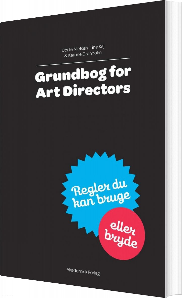 Billede af Grundbog For Art Directors - Dorte Nielsen - Bog