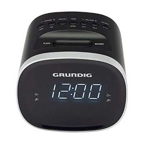 Image of   Grundig Clockradio Med Snooze Funktion Scc-240 - Sort