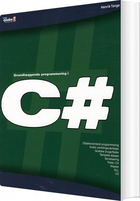 Image of   Grundlæggende Programmering I C - Henrik Tange - Bog