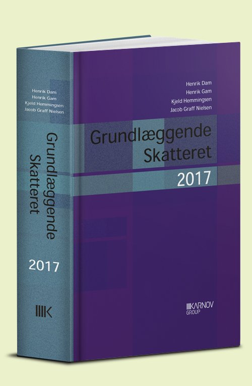 Grundlæggende Skatteret 2017 - Henrik Gam - Bog
