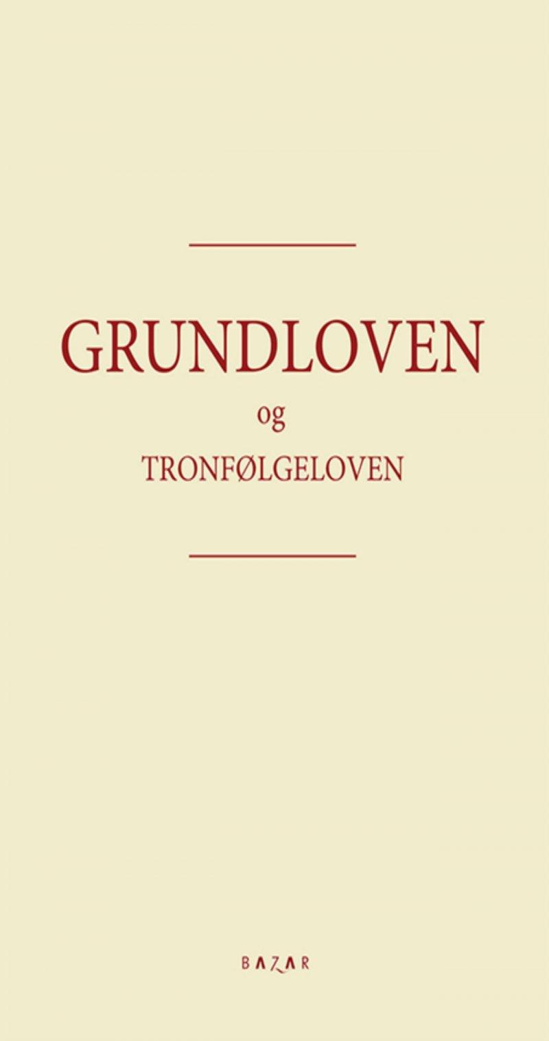 Image of   Grundloven - Diverse - Bog
