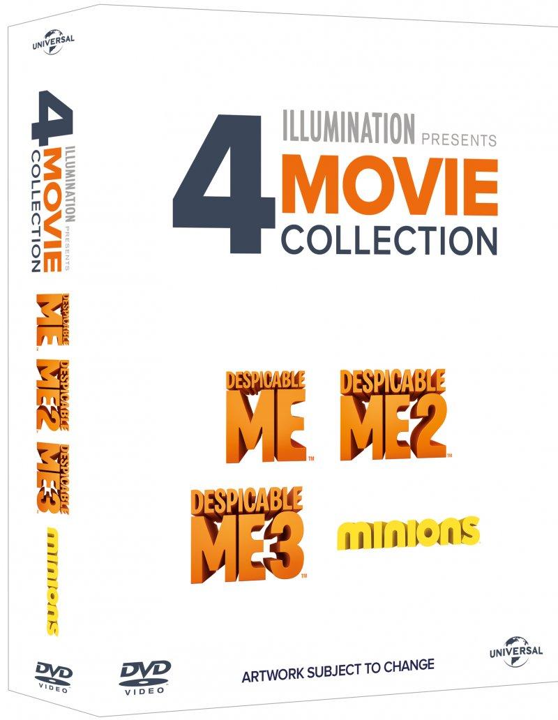 Billede af Grusomme Mig 1 // Grusomme Mig 2 // Grusomme Mig 3 // Minions - DVD - Film