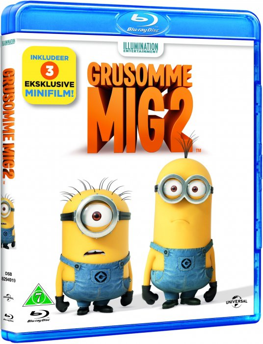 Image of   Grusomme Mig 2 / Despicable Me 2 - Blu-Ray