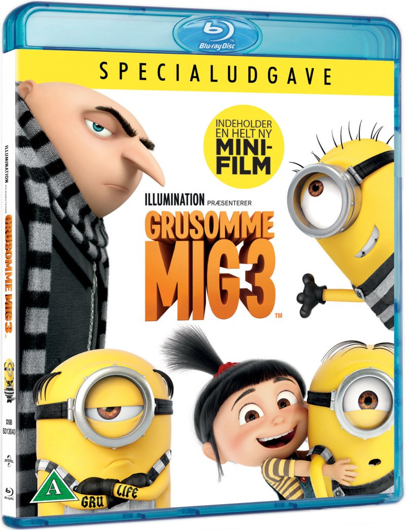 Image of   Grusomme Mig 3 / Despicable Me 3 - Blu-Ray