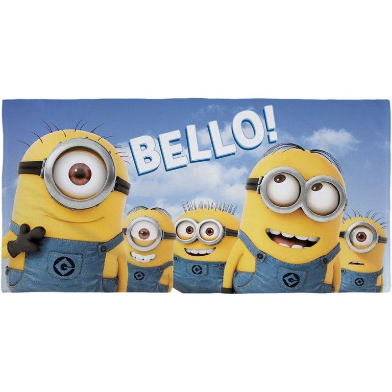 Minions Børnehåndklæde - Bello - 140 X 70 Cm