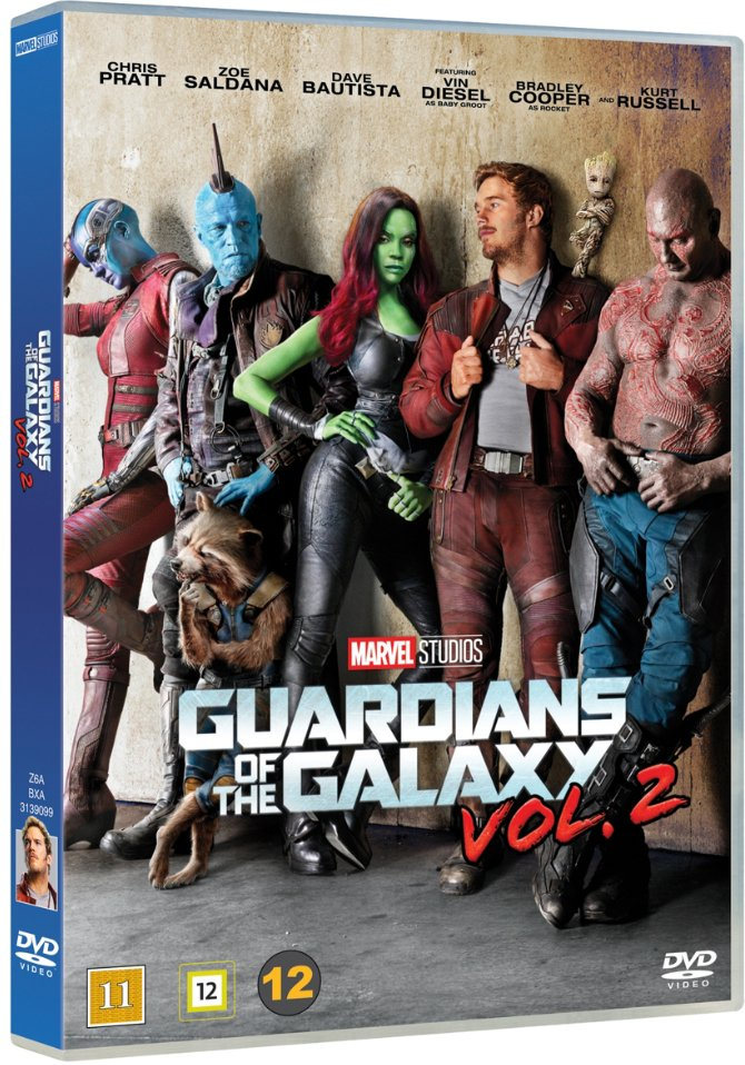 Image of   Guardians Of The Galaxy 2 - DVD - Film