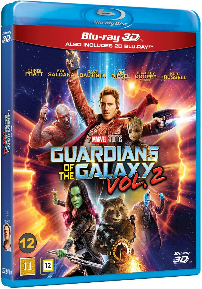 Image of   Guardians Of The Galaxy 2 - 3D Blu-Ray