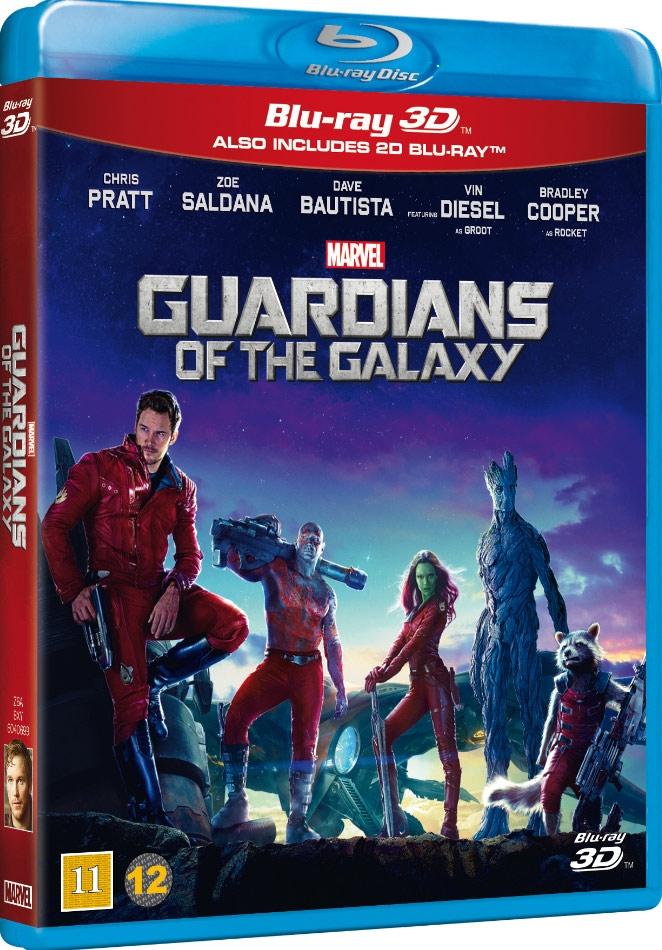 Billede af Guardians Of The Galaxy - 3D Blu-Ray
