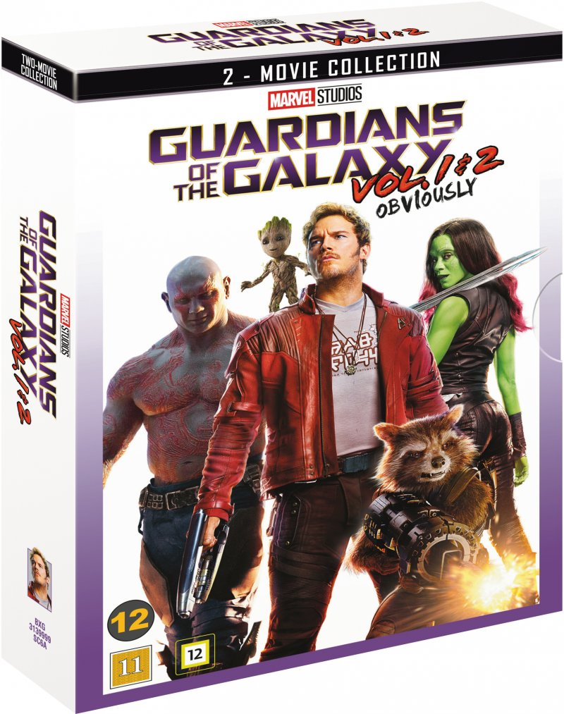Image of   Guardians Of The Galaxy / Guardians Of The Galaxy 2 - DVD - Film