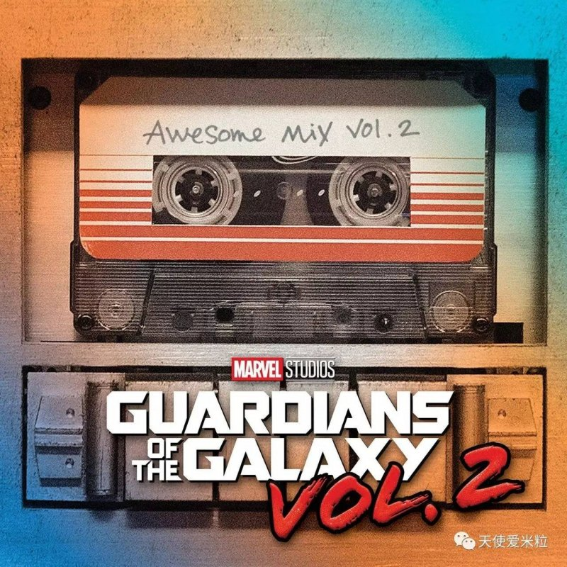 Image of   Guardians Of The Galaxy Vol. 2: Awesome Mix Vol. 2 Soundtrack - Vinyl / LP