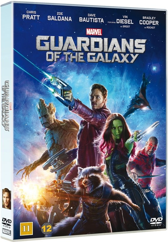 Image of   Guardians Of The Galaxy - DVD - Film