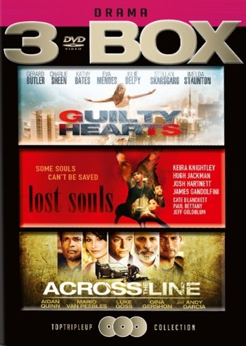 Guilty Hearts // Lost Souls // Across The Line - DVD - Film