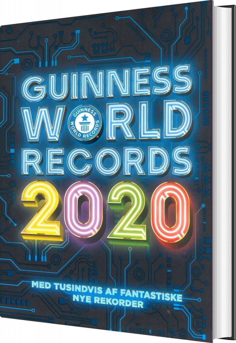 Image of   Guinness Rekordbog 2020 - Guinness World Records - Bog