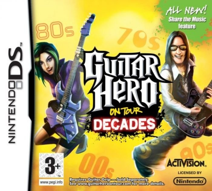 Guitar Hero On Tour Decades - Nintendo DS