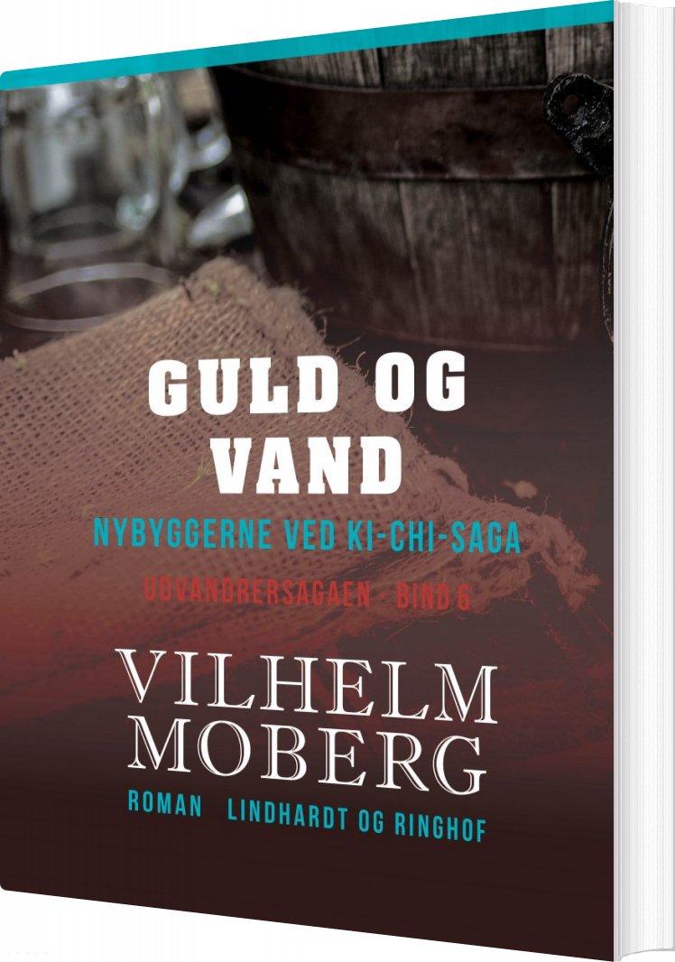 Image of   Guld Og Vand - Vilhelm Moberg - Bog