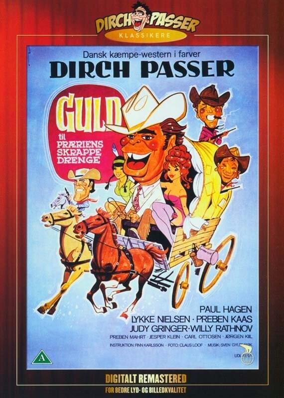 Image of   Guld Til Præriens Skrappe Drenge - DVD - Film