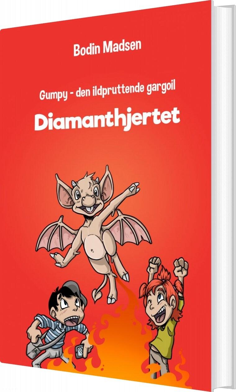 Image of   Gumpy 1 - Diamanthjertet - Bodin Madsen - Bog