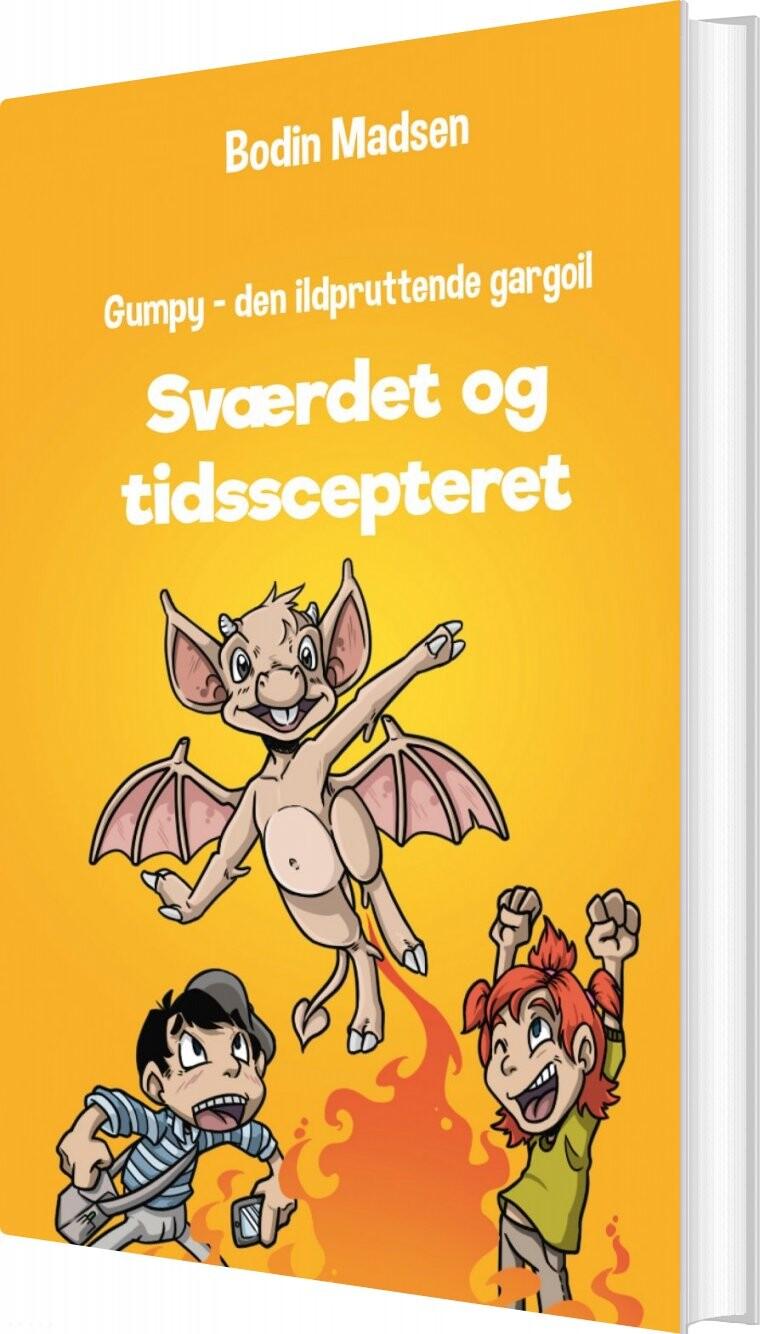 Image of   Gumpy 3 - Sværdet Og Tidsscepteret - Bodin Madsen - Bog