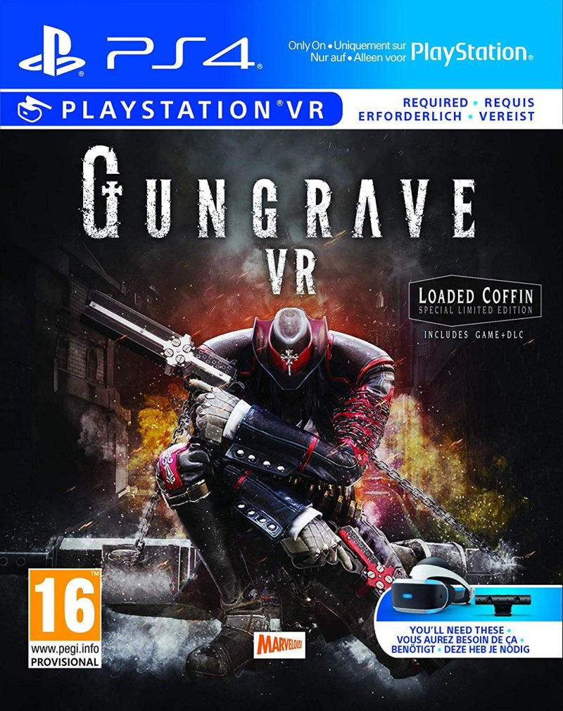 Image of   Gungrave Vr loaded Coffin Edition - PS4