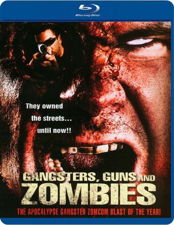 Image of   Guns Gangsters And Zombies - Blu-Ray