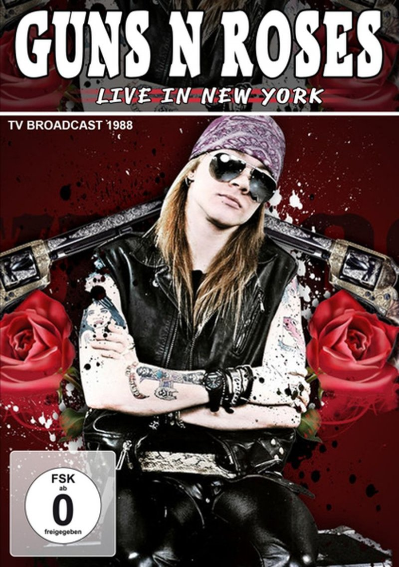Guns n Roses - Live In New York 1988 - DVD - Film