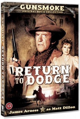 Gunsmoke - Return To Dodge - DVD - Film