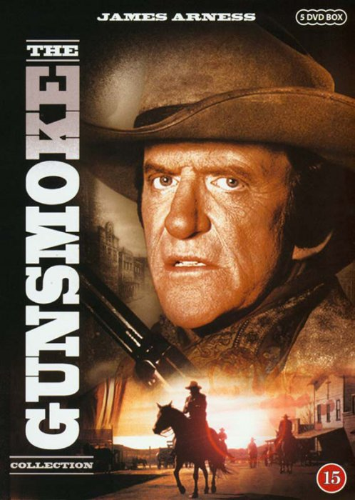 Gunsmoke - The Collection - DVD - Tv-serie