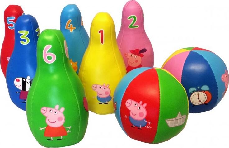 Gurli Gris Soft Bowling-sæt
