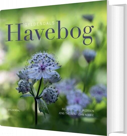 Image of   Gyldendals Havebog - Lulu Jacobsen - Bog
