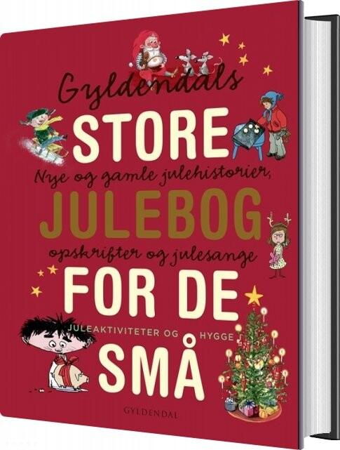 Image of   Gyldendals Store Julebog For De Små - Gyldendal - Bog