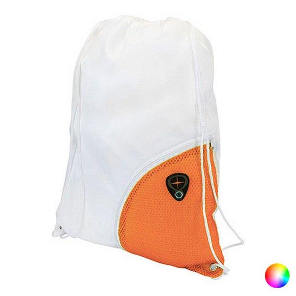 Image of   Gymnastikpose Med Lomme Og Udgang Til Høretelefoner - Orange Hvid