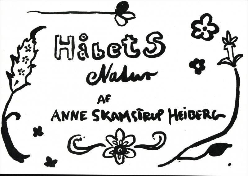 Håbets Natur - Anne Skamstrup Heiberg - Bog