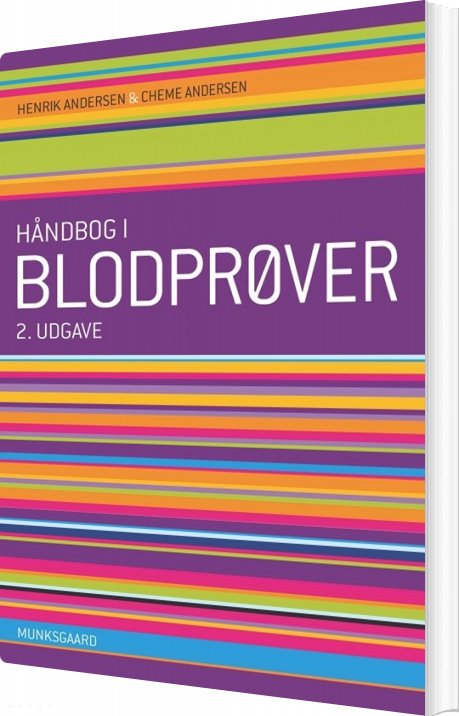 Image of   Håndbog I Blodprøver - Henrik Andersen - Bog