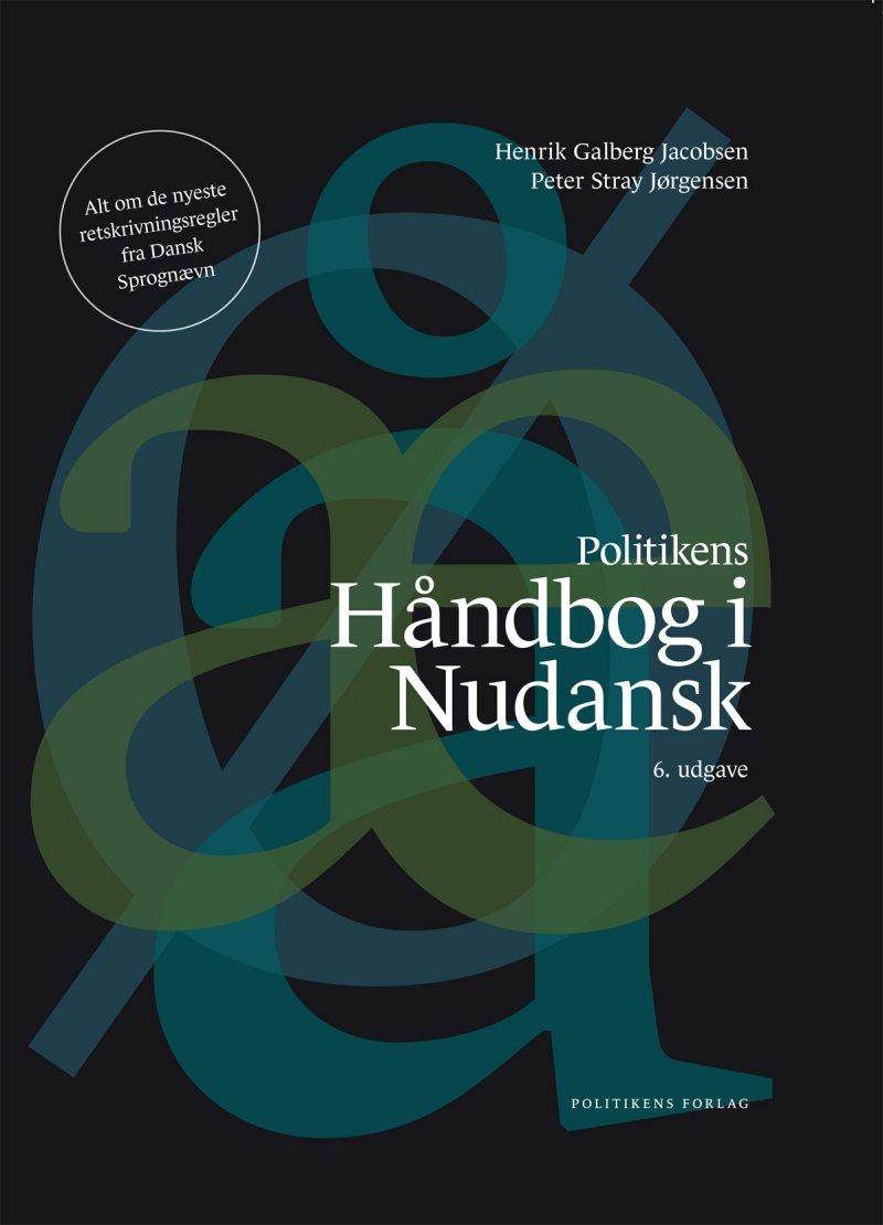 Billede af Håndbog I Nudansk - Stray Jørgensen - Bog