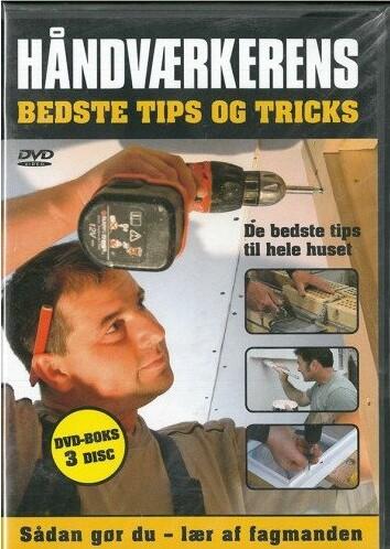 Billede af Håndværkerens Bedste Tips Og Tricks - DVD - Film