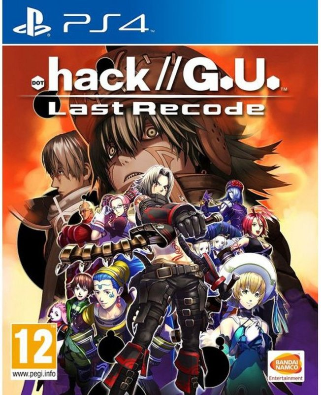Image of   .hack//g.u. Last Recode - PS4