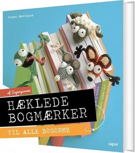 Image of   Hæklede Bogmærker - Jonas Matthies - Bog