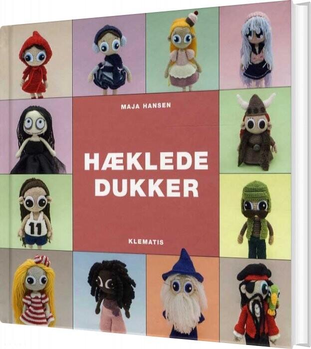 Hæklede Dukker - Maja Hansen - Bog