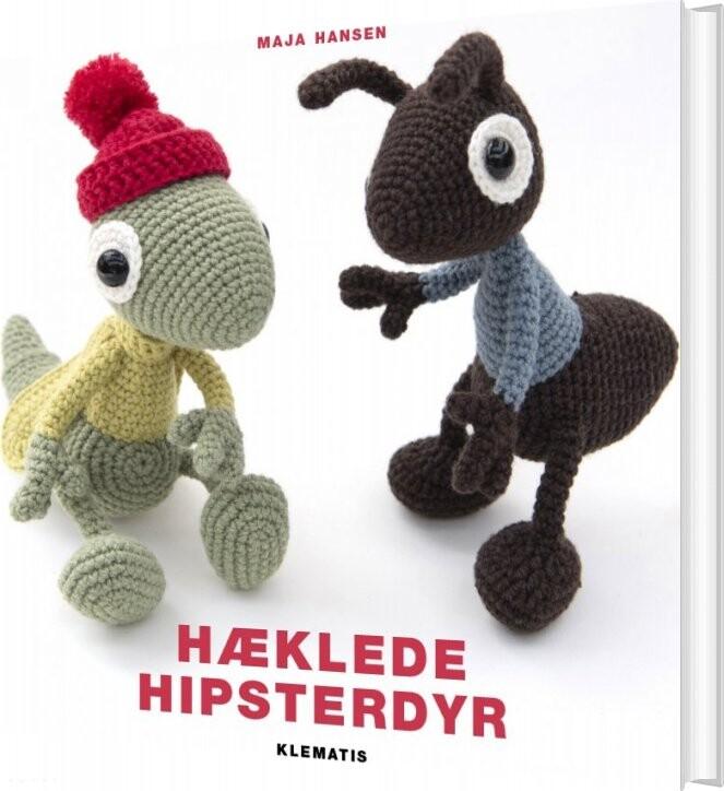 Image of   Hæklede Hipsterdyr - Maja Hansen - Bog