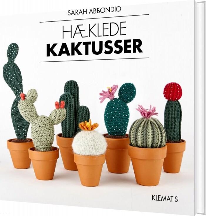Image of   Hæklede Kaktusser - Sarah Abbondio - Bog
