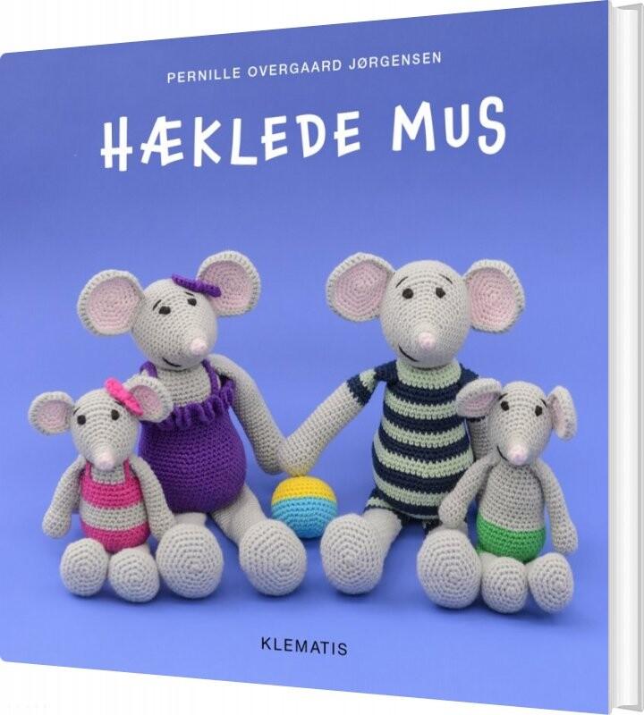 Image of   Hæklede Mus - Pernille Overgaard Jørgensen - Bog