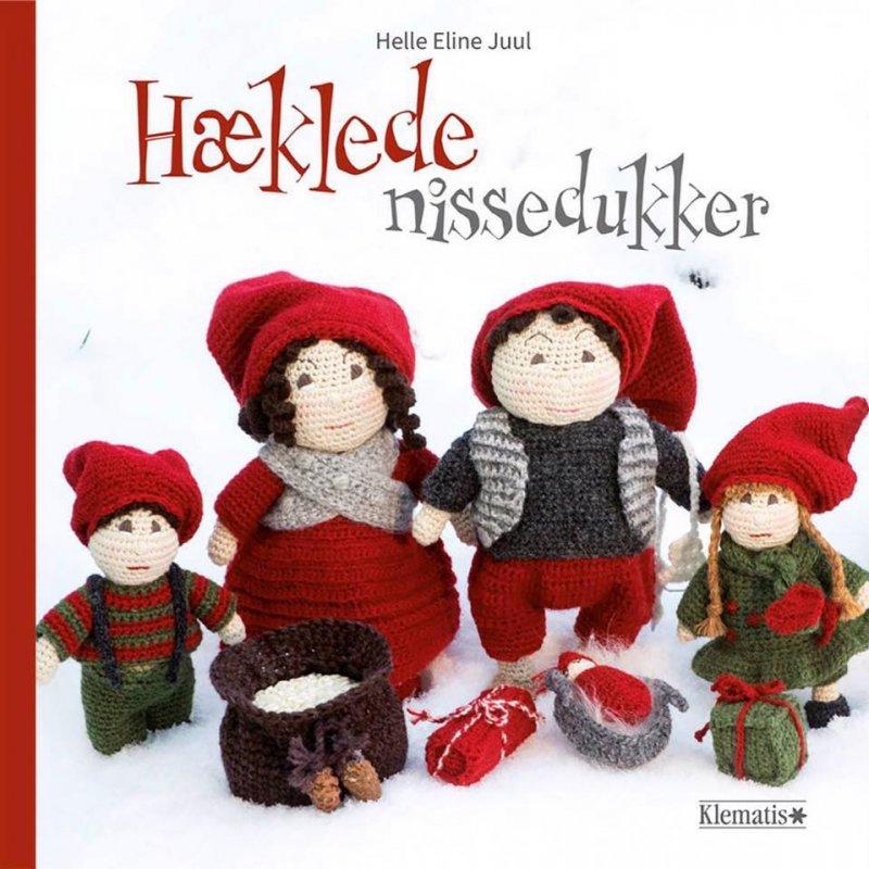 Image of   Hæklede Nissedukker - Helle Juul - Bog
